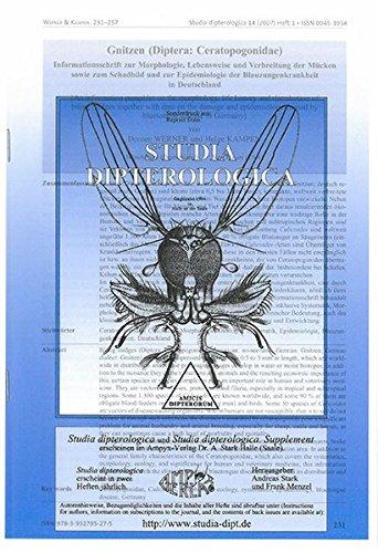 Gnitzen (Diptera: Ceratopogonidae) Informationsschrift zur Morphologie, Lebensweise und Verbreitung der Mücken sowie zum Schadbild und zur Epidemiologie der Blauzungenkrankheit in Deutschland