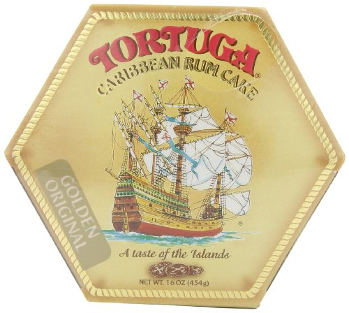 Tortuga Golden Rum Cake from Caribbean, 454g