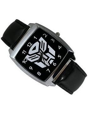 Fashion Kid ung27Transformers Autobot Fashion Boy Edelstahl Armbanduhr schwarz