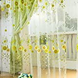 Best Home Fashion Valances - Generic Green, 1m width 2m length : Factory Review
