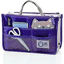witery esencial bags-in-bag, Viaje Organizador de Malla de Almacenamiento iPad Case bolsa de maquillaje maquillaje belleza neceser