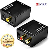 Oxyura™ Digital to Analogue Optical Audio Convertor RCA Input and Optical Coaxial Output