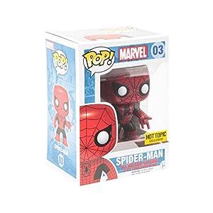 Funko Pop Spiderman Rojo y Negro – Edición Limitada (Marvel 03) Funko Pop Marvel