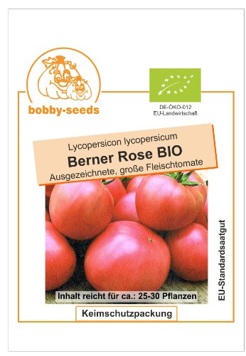Bobby-Seeds BIO-Tomatensamen Berner Rose, Portion