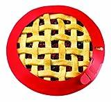 Chicago Metallic CMB035 Silicone Pie Cru...