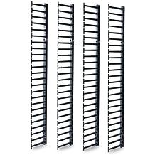 APC AR7737 Bandeja porta - Cable (Bandeja portacables recta, Vertical, Negro, RoHS