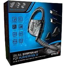 Gioteck - Pack Online Starter Kit (Auriculares EX03 + Gatillos + HDMI) (PS3)