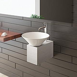 Alpenberger Waschbecken/Waschplatz / Waschtisch für Ihr exklusives Bad/Badezimmer / Designer Waschtisch Serie 60 / Keramik Waschbecken