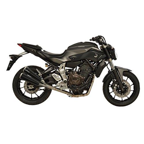 Escape LeoVince GP duals Full Sistema de Yamaha MT 07RM04ABS Moto Cage