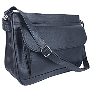 Hey Hey Handbags - Ladies Organiser Handbag with Compartments