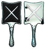 Hochwertige Föhn-& Stylingbürste ikoo paddle X take a swim mit ergonomischem Griff für ein angenehmes Kämmen und Kopfmassage