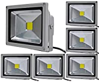 50W 30W 20W 10W LED Flood Lights,Alpha DIMA Outdoor IP65 Waterproof 2800K Warm White Floodlights for Landscape Garden Lighting from ALPHA DIMA