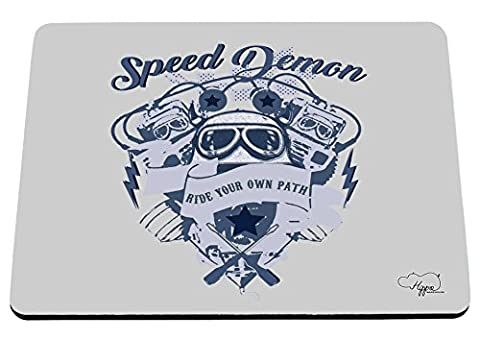 Hippowarehouse Speed Demon Ride votre propre chemin Bike Engine Imprimé