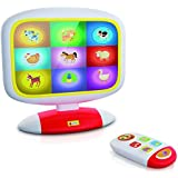 Lisciani - F49677 - Baby Smart TV - blanc/rouge/jaune