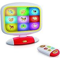 Lisciani–f49677–Baby Smart TV–Blanco/Rojo/Amarillo