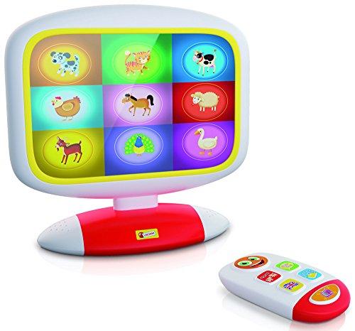 Lisciani - F49677 - Baby Smart TV - blanc/rouge/jaune 8008324049677