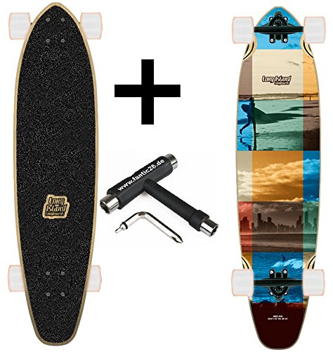 Long Island Longboard Bear Grizzley Achsen (Session Kicktail Cruiser + Fantic26 Skatetool)
