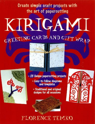 Kirigami Greeting Cards and Gift Wrap (English Edition)