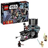 Lego 75169Il Maestro Qui-Gon ha accerchiato Darth Maul al generatore di corrente su Naboo e ha bisogno del tuo aiuto per sconfiggerlo! Duella con le spade laser e, se cadi nel nucleo del generatore, attiva la catapulta per uscirne. Se Maul è ...
