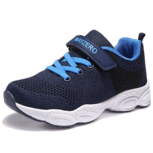 Ummaid scarpe da ginnastica running sportive basse bambini ragazzi ragazze scarpe tennis sneakers,32dark blue
