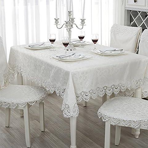 BEEST-Runden Tisch Weinschrank Tischdecke Spitze Spitze Kissen Kissen TV-schrank Polster,