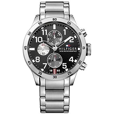 Tommy Hilfiger Hombre Reloj de pulsera analógico cuarzo acero inoxidable 1791141