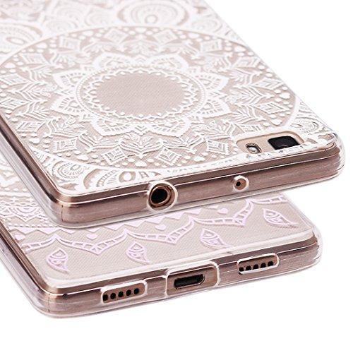 iPhone 6 6s Hüll,Asnlove Dünn Transparent Weiche Durchsichtig Gummi Schutzhülle für Apple iPhone 6 6S 4.7inch Hüll Tasche Silicon Case Handyhülle Schutz Etui Handytasche Silikon TPU Bumper Rückseiten  Pattern-6