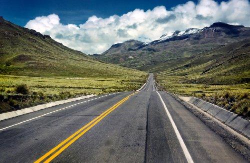 P170701–9PAPEL PINTADO FOTOGRAFICO DE PARED DE PANAMERICANA HIGHWAY ANDEN PERU