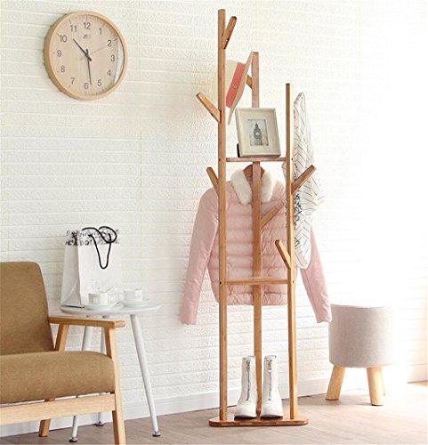 Bjff® appendiabiti atterraggio facile camera da letto appendiabiti ad angolo semplice moderno famiglia verticale appendini