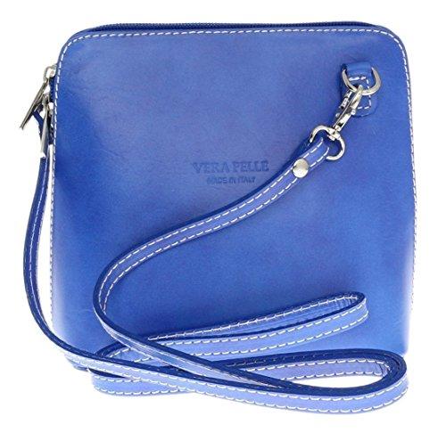 Vera Pelle ,  Damen Umhängetaschen Light Royal Blue