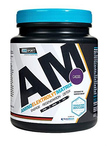 AMSPORT Aminoelektrolytmatrix Pulver 600g Dose Cassis