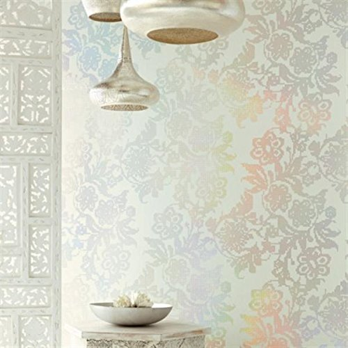 wallpaper-floral-shiny-mirror-effect-with-reflections-multi-colour-yasmin-341740-eijffinger