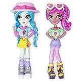 Off The Hook Style-Freundinnen, Vivian & Mila (Sommerurlaub), 10 cm große Puppen mit kombinierbaren...