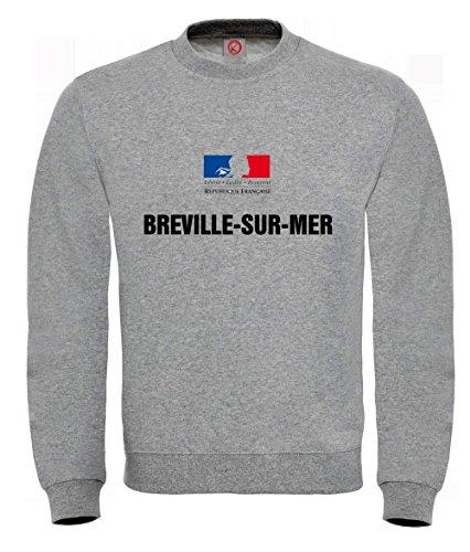 sweat-shirt-breville-sur-mer-gray
