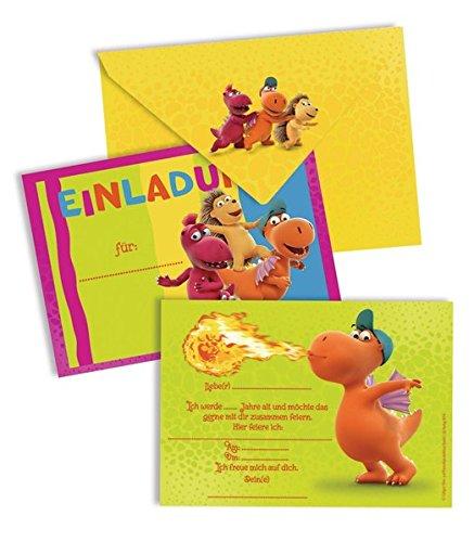Preisvergleich Produktbild Der kleine Drache Kokosnuss - Einladungskarten-Set