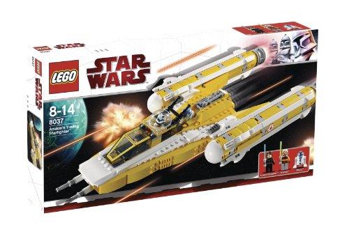 Lego Star Wars 8037 - Anakin's Y-Wing (Clone Wars Star Wars Ahsoka Lichtschwert)