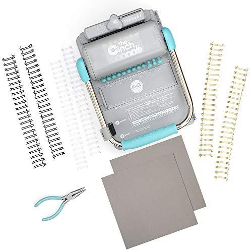 We R Memory Keepers Kit Cinch, Kunststoff und Metall, Blau, Einheitsgröße - Blau Cinch