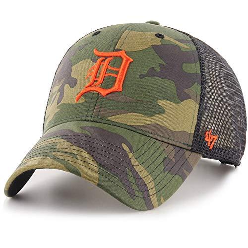 47 Brand Detroit Tigers MVP Branson Cap - Camo