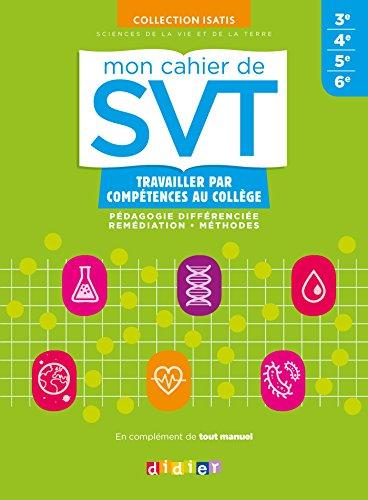 Mon cahier de SVT Collège