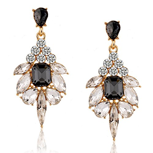 TBOP EARRING THE BEST OF PLANET SIMPLE & STYLISH earrings fashion exquisite diamond candy gemstone earrings in black color