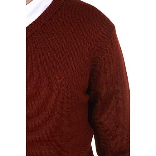 Versace 19.69 Abbigliamento Sportivo Srl Milano Italia Versace 19.69 Abbigliamento Sportivo Milano mens V neck sweater 9803 SCOLLO V BORDEAUX BORDEAUX Bordeaux