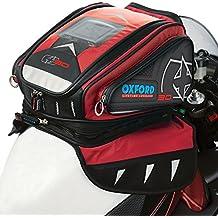 Ol267–Oxford moto motocicleta X30QR–Bolsa de depósito–rojo