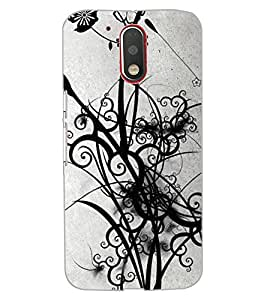 ColourCraft Beautiful Art Design Back Case Cover for MOTOROLA MOTO G4 PLUS