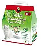Litière végétale écologique Aglomérante OCTAVE Nature - 10 litres - TERRANIMAL