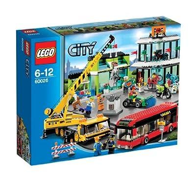 LEGO City - En la ciudad: la plaza (60026)