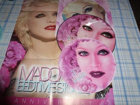 33T.MADONNA - BEDTIME STORIES 20TH ANNIVERSARY LP PICTURE-DISC + POSTER/NUMEROTEE