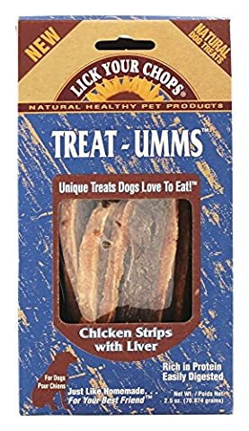 Lick Your Chops Chicken Strips W/liver (6x2.5oz )