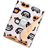 Baby Bucket Double Layer Velvet Fleece Newborn Printed Baby Blanket (VEL CARS)