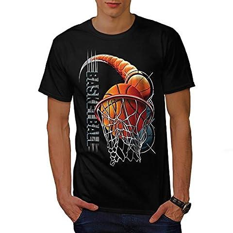 Basketball Ballon sport Chicago Homme L T-shirt | Wellcoda