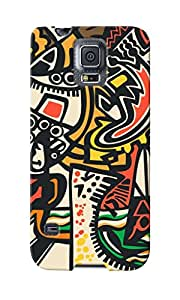 CimaCase Abstract Designer 3D Printed Case Cover For Samsung Galaxy S5